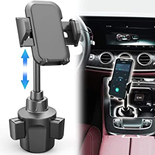 2020 New Car Cup Holder Phone Mount, Adjustable Gooseneck Automobile Cup-Holder-Phone-Car-Mount for iPhone 11/11 Pro/11 Pro Max/XS/Max/X/8/7 Plus/Galaxy/Xperia/Samsung