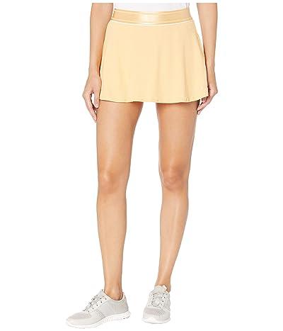 Nike Court Dry Skirt Flouncy (Celestial Gold/White/Celestial Gold) Women