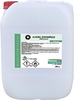comprar comparacion Ecosoluciones Químicas ECO-301 | 20 litros | Alcohol Isopropílico 99,9% Alta pureza IPA | Limpieza componentes electrónico...
