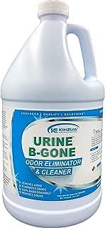 Urine-B-Gone | Professional Urine Enzyme Odor Eliminator | Each Bottle Contains Over 200 Billion Enzymes | Concentrated Formula | Completely Eliminates Urine, Feces, Other Biological Odors (128 oz)