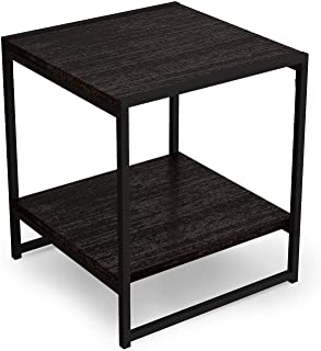 Squarecal Modern 16-inch Square Side Table/End Table/Coffee Table | Centre Table, Coffee Table, Tea Table, Cosy Table with...