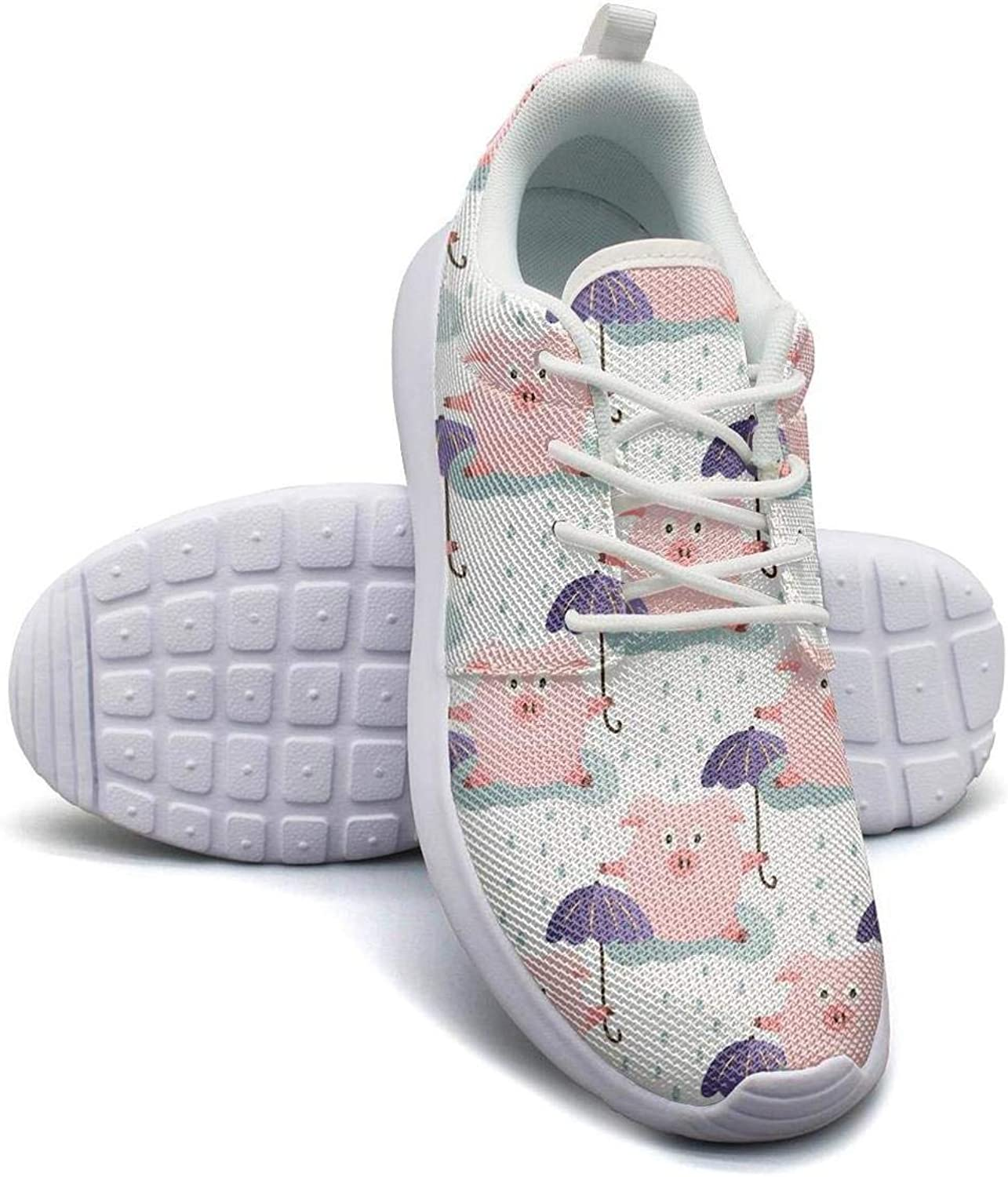 Pig Miami Mall Classic with Umbrella in The Rain Simpl Girl Shoes Casual Skateboard