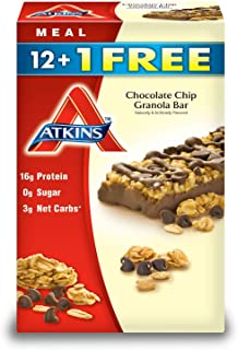 Atkins Chocolate Chip Granola Bar (13 ct.) ( 2 pack )