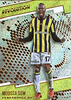 2017 Panini Revolution #115 Moussa Sow Fenerbahce SK Soccer Card