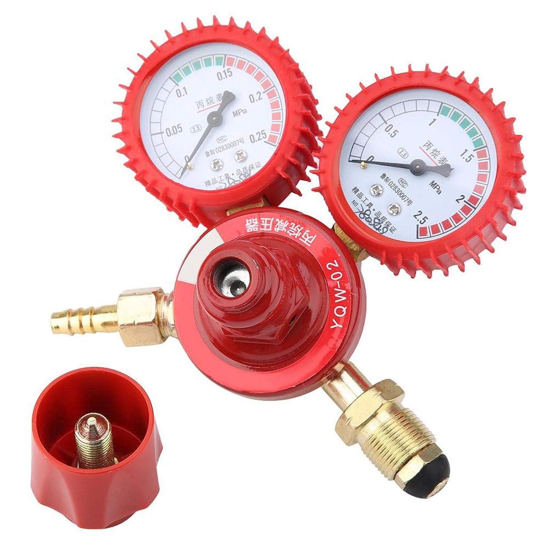 Medidor de presión de propano de aleación de zinc Medidor de presión de gas económico Indicador de nivel de usos múltiples Soldadura Piezas de corte mejoradas Reductor de presión de propano Detector