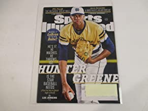 MAY 1, 2017 SPORTS ILLUSTRATED MAGAZINE FEATURING HUNTER GREENE OF NORTE DAME HIGH *HE'S 17. HE MASHES. HE THROWS 102. IS THE STAR BASEBALL NEEDS (FIRST HE HAS TO FINISH HIGH SCHOOL) -BY LEE JENKINS*