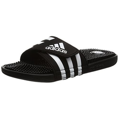 official photos f71e4 fc824 adidas Mens Addissage Slides Flip Flops Fitness Shoes
