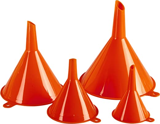 KarZone All Purpose 4 Piece Funnel Set