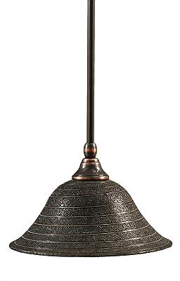 Amazon.com: Toltec iluminación 80-dg-753 elegante mini ...
