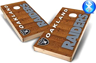 PROLINE NFL 2'x4' Cornhole Board Set with Bluetooth Speakers - Vertical Design