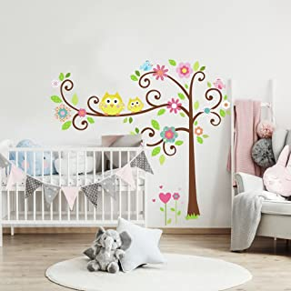 RoomMates Happi Scroll Tree Peel and Stick Wall Decal Megapack