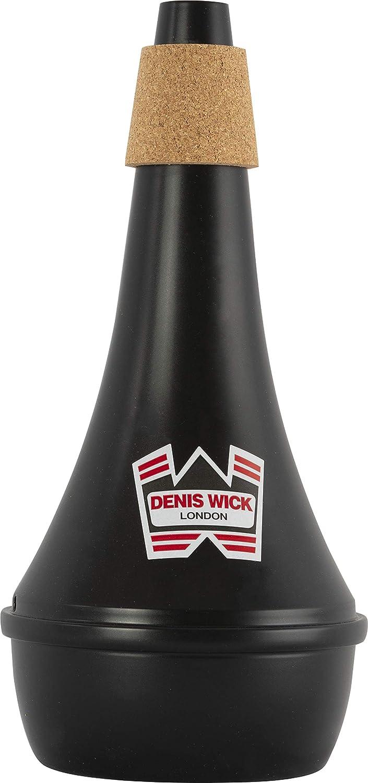 Denis Wick DW5527 Trombone Mute New sales Black Practice Fixed price for sale