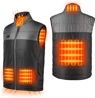 Heated Vest for Men Rechargeable Women Heating Vest with Battery Pack Washable Winter