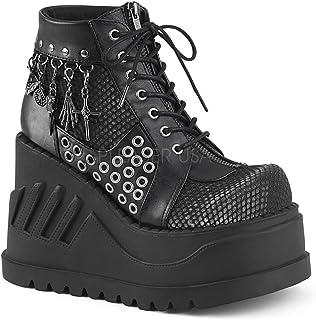 Demonia Women's Stomp-18 Ankle-High Boot