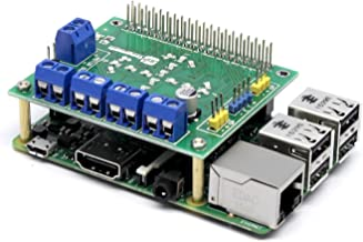 SB New Motorshield for Raspberry Pi 3,2,1 and Zero This Expansion Board can Control up to 4 Motors or 2 Stepper Motor, 2 IR sensors and a Single ultrasonic Sensor.