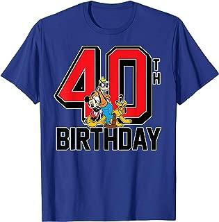 Birthday Group 40th T-shirt