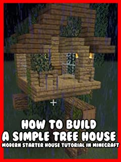 Clip: How to Build a Simple Tree House - Modern Starter House Tutorial in Minecraft