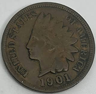 1901 P Indian Head Penny Cent Extremely Fine