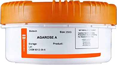 Bio Basic's Agarose A, for Gel electrophoresis, Protein Purification, Cell Culture and Motility assays, 250g