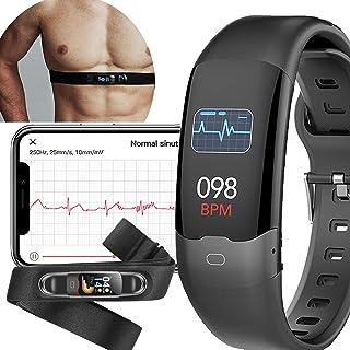 AUPALLA Pulsera Actividad, Reloj Inteligente con Pulsómetro, SpO2, HRV, ECG, Monitor Ritmo Cardíaco y Sueño, Podómetro Fitness Tracker Reloj Deportivo
