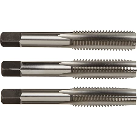 Cle-Line C62004 Taper 4-40 UNC Plug and Bottoming Hand Tap Set