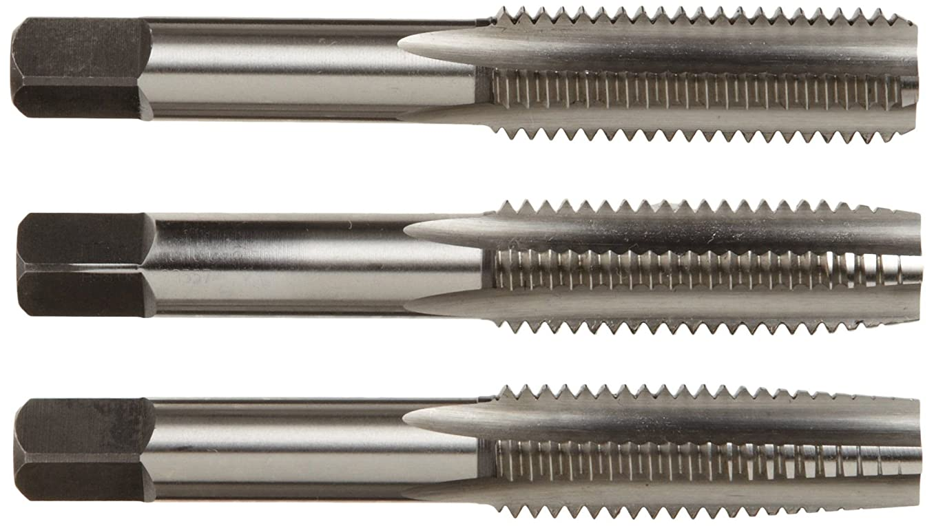 Alfa Tools CSHTS70546 3/4-10 Carbon Steel Hand Tap Set Taper/Plug/Bottom
