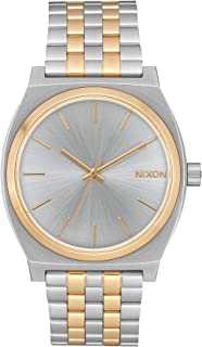Nixon Time Teller Watch One Size Silver/Gold