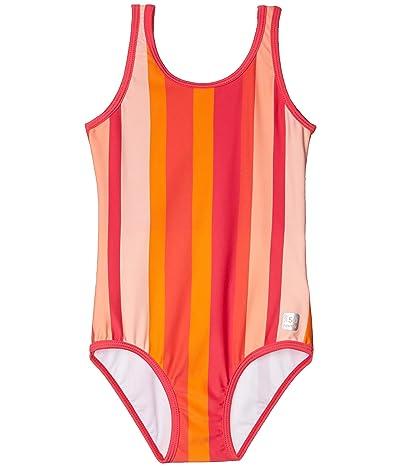 reima Swimsuit Sumatra (Toddler/Little Kids/Big Kids) (Berry Pink) Girl