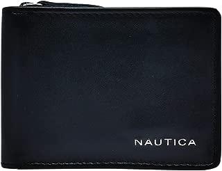 Men's Leather Slim Zip Wallet