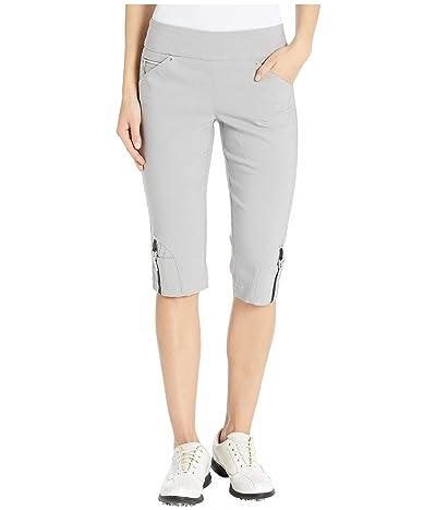 Jamie Sadock 24.5 Skinnylicious Pull-On Knee Capris (Cashmere) Women