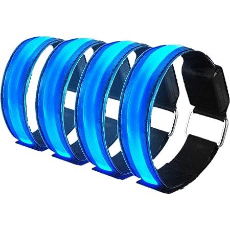 LED Schuh Clip sicher und leuchtend 1 Stück inkl 10 extra Batterien