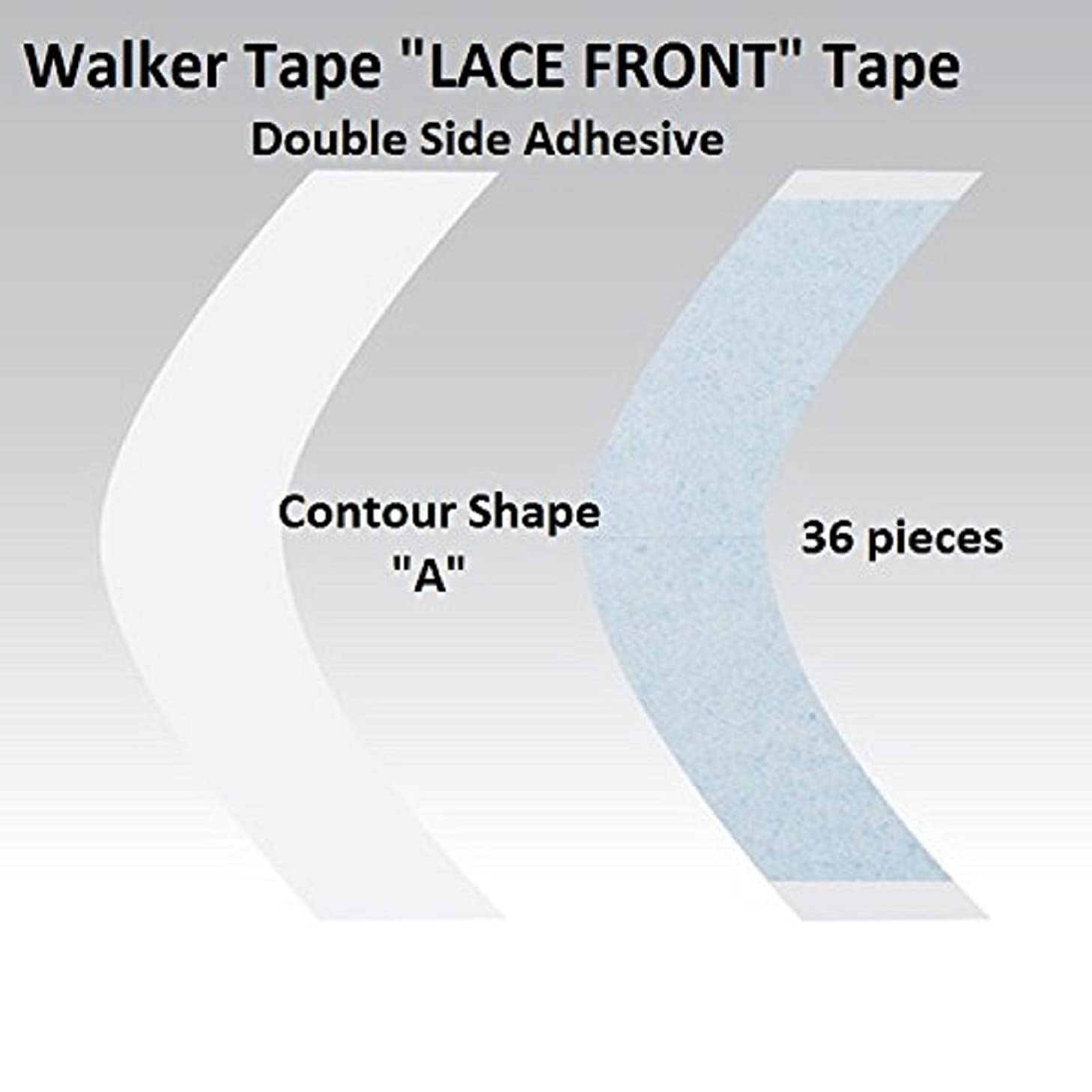 2-6 week hold A Contour Lace Front Adhesive Tape 36 Pieces