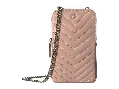 Kate Spade New York Amelia Phone Crossbody (Flapper Pink) Cross Body Handbags