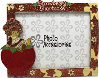 Strawberry Shortcake Sparkly Enamel Floral Picture Frame (4x6in)