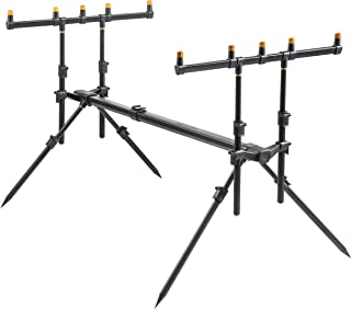 18935d6cd5 VTK Fishing Legendary CP-5 Rod Pod - Support de Cannes Pro Version 3 4