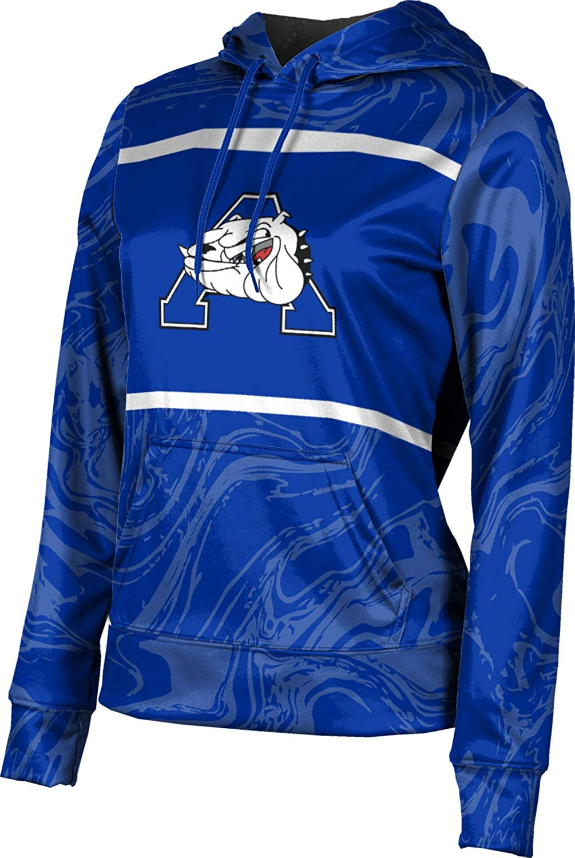 ProSphere Alliance High School Girls' Pullover Hoodie, School Spirit Sweatshirt (Ripple)