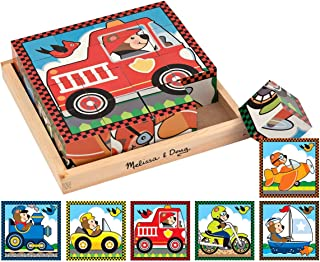 Melissa and Doug Vehicles Cube Puzzle 772 Jigsaws & Puzzles