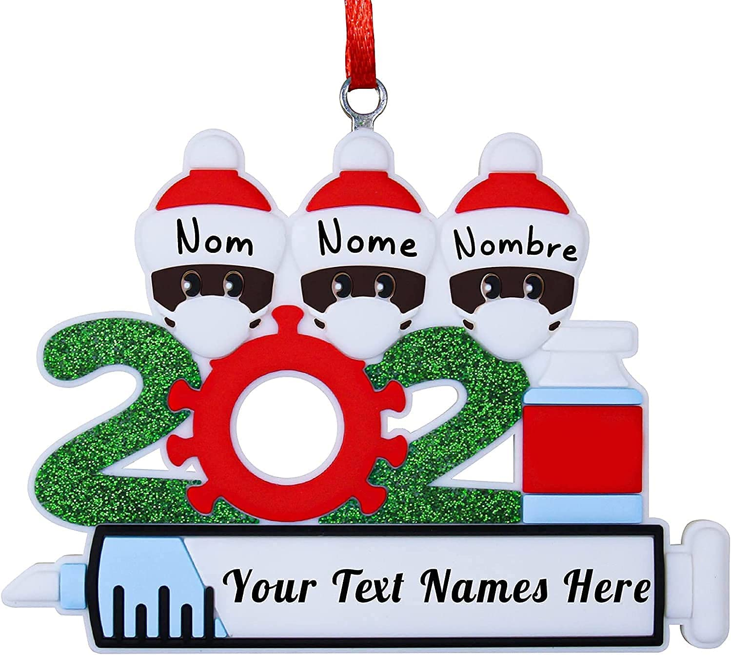 Popular New 2021 Christmas Decoration Set Creative Mail order cheap Gifts Personalized De