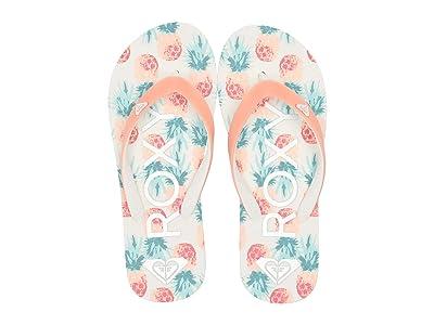 Roxy Kids Tahiti VI (Little Kid/Big Kid) (Peach Parfait) Girls Shoes