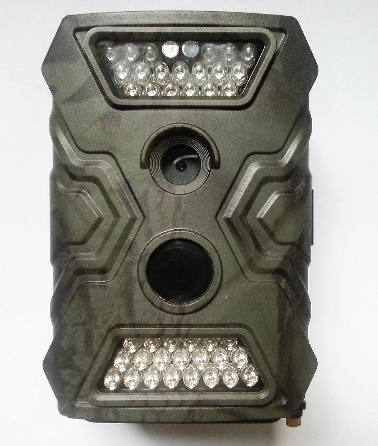 同意基本的なスケッチトレイルカメラ 500万画素 720P録画 30fps  40個赤外線LED搭載 野生動物の生態調査に活躍 屋外用の防犯カメラとして最適 防水 時差撮影 不可視赤外線 940nm 野外監視カメラ ハンティングカメラ HC26