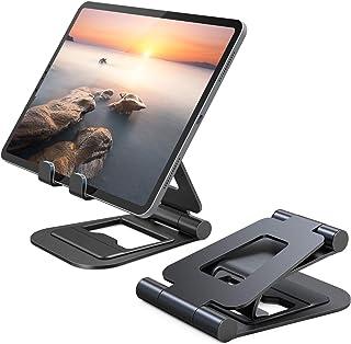 Nulaxy iPadスタンド タブレットpcスタンド スマホスタンド 折りたた式 アルミ製Nintendo Switchスタンド 4.7-13インチに対応 iPad Pro Air Mini iPhone Kindle Nexusに対応 A...