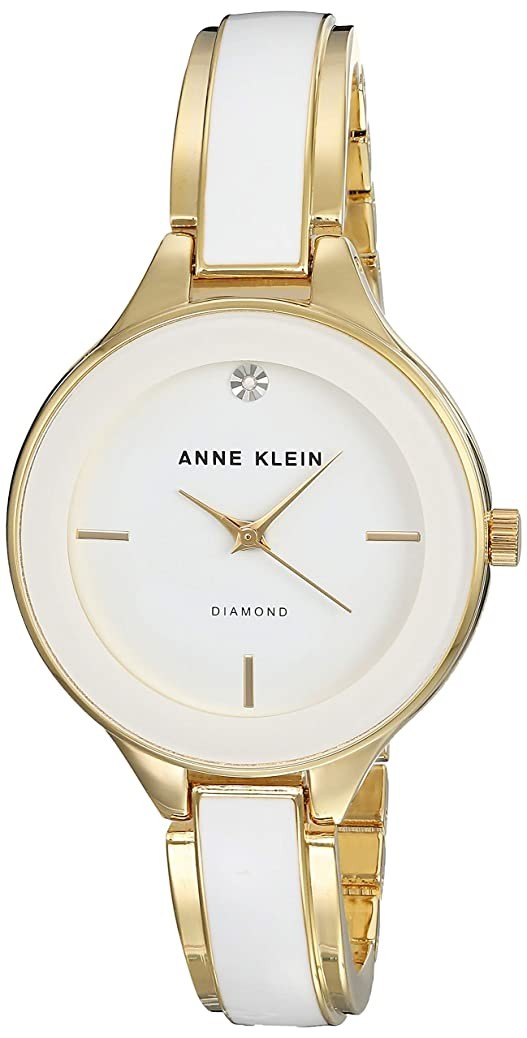Anne Klein Classic White Dial Stainless Steel Ladies Watch AK2702WTGB arer5854460391