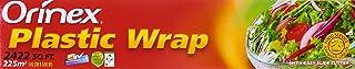 Orinex Plastic Wrap Jumbo Roll, 45cmx500 M - Clear