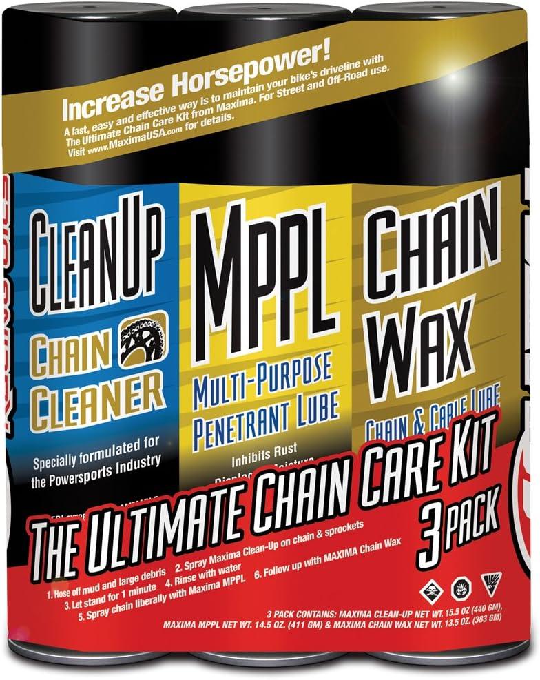 Maxima 70-749203-3PK store Chain Wax Combo Aerosol Care Ultimate Shipping included