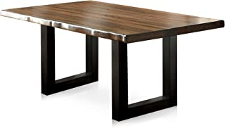 HOMES: Inside + Out Tobacco Oak Durrett Contemporary Dining Table