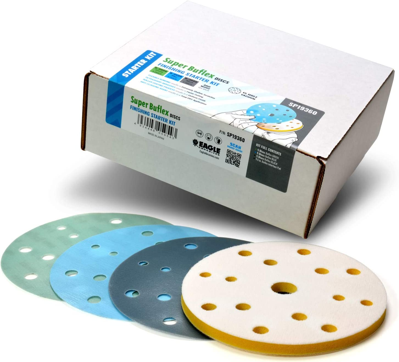 価格交渉OK送料無料 Super Buflex Flexible Polishing Discs Starter SP19360 Kit 高級 K200