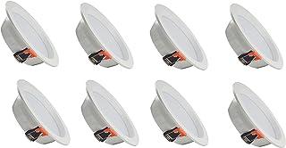 ZEYUN LED Foco empotrable empotrable en el techo Foco empotrable 5W, blanco neutro 4500k Profundidad de montaje 43 mm, paq...