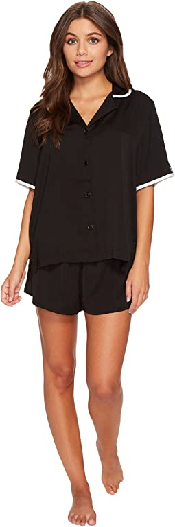 DKNY - Logo Shorty Set with Eyemask