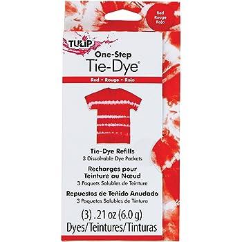 TULIP 29035 Dye Refill Packs, Red
