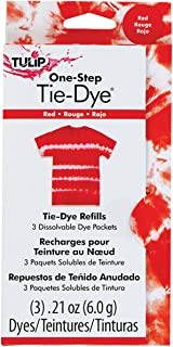 TULIP 29035 Dye Refill Packs, Red